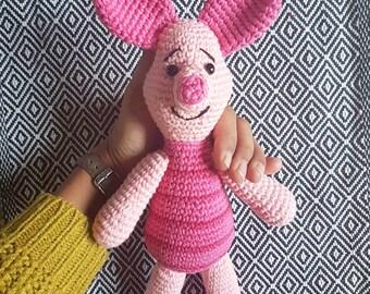 Piglet crochet amigurumi