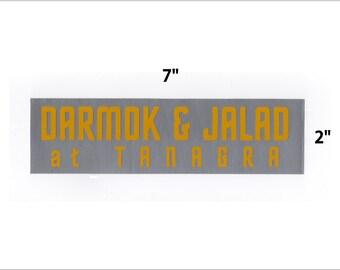 Darmok and Jalad sticker - Star Trek TNG decal geek gift