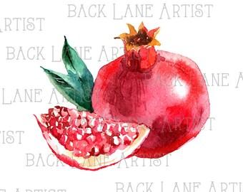 V lo vintage clipart lineart illustration t l chargement - Grenade fruit dessin ...
