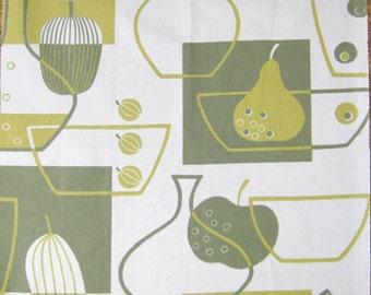 FQ Retro kitchen fabric kitsch repro