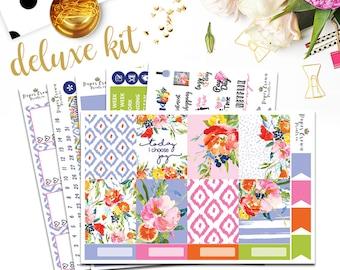 MARGARITA Deluxe Kit Planner StickersPlanner Stickers for use with Erin Condren Planner/Weekly Planner Sticker Kit/Sticker Set