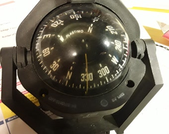 Plastimo Off Shore Compass..12 v. light Hook Up ...Excellent condition
