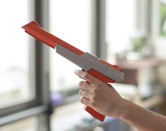 Paper Zapper Orange - DIY Papercraft Kit (pre-cut)
