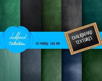 Chalkboard Paper, Digital Chalk Paper, Chalk background, chalkboard backdrop, chalkboard texture, Chalk wallpaper, digital download, 12x12