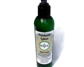 Patchouli Lotion - Vegan Lotion - Palm Free Lotion - Paraben Free Lotion