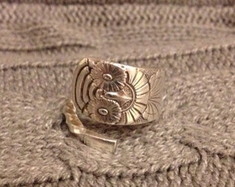 Owl 1892 Demitasse Spoon Ring