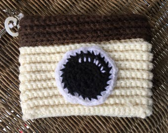 Knitted Camera/iPhone Purse