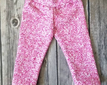 "Doll Leggings, 18"" Doll Clothes, Faux Pink Sparkles Doll Pants"
