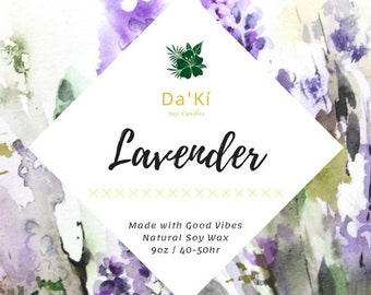 Lavender | Soy Candle