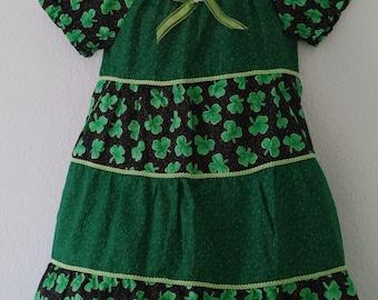 St. Patrick's Day Dress 3 Toddler