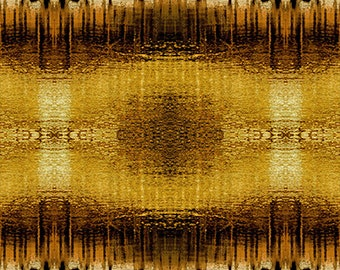 The  Golden Hour, Four PM, by SAQA, cotton woven fabric