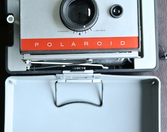 Polaroid Camera, Retro Polaroid, Vintage Polaroid, Polaroid 104, Polaroid Bellows, Polaroid Land Camera, Folding Polaroid
