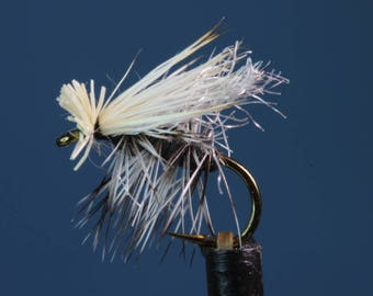 3-pack Foam Body Caddis, fly fishing flies, hand-tied flies, caddis flies, Trout flies, Elk Hair Caddis