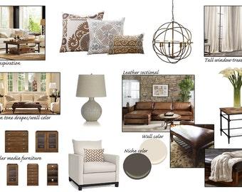 Rustic Living Room Interior Designs
