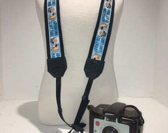 Personalized DSLR Camera Strap - UP