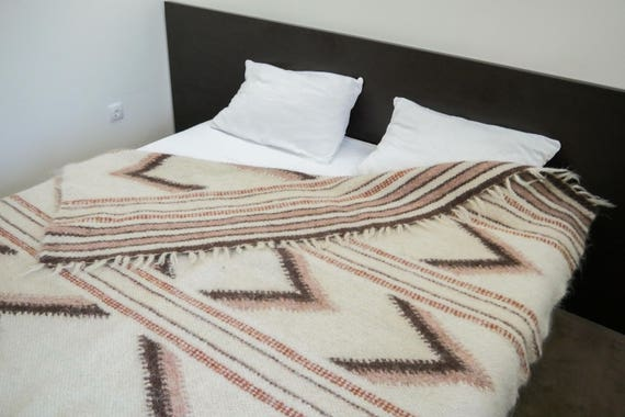 Amazing Wool Coverlet Wool Blanket King Coverlet Wool Throw Blanket