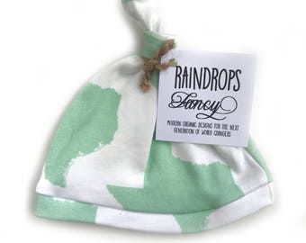 Mint Texas Knotted Hat