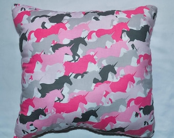 Nerdipillows Handmade Handsewn Unicorn Pillow