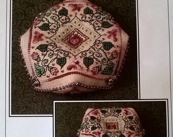 Rhodes Butterfly Biscournu Pincushion Designed Kit by Sandra Cox Vanosdall for The Sweetheart Tree