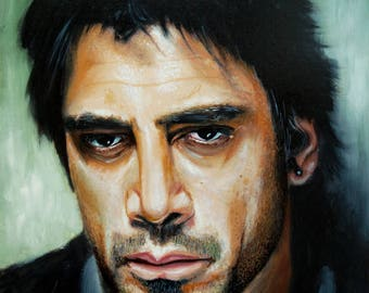 Javier Bardem portrait
