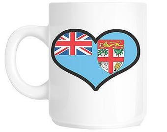 Love fiji gift mug