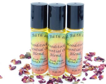 Woodstock Essential Oil Roll On, Perfume Oil