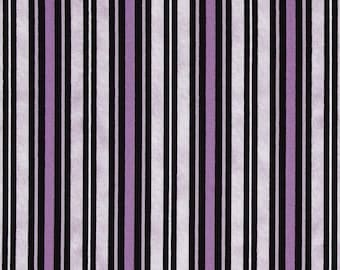 Stripes, Twilight by Quilting Treasures, Purple Fabric, Purple Stripe, 00321