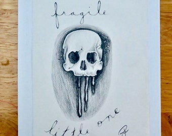 Fragile Little One •• Digital Artwork