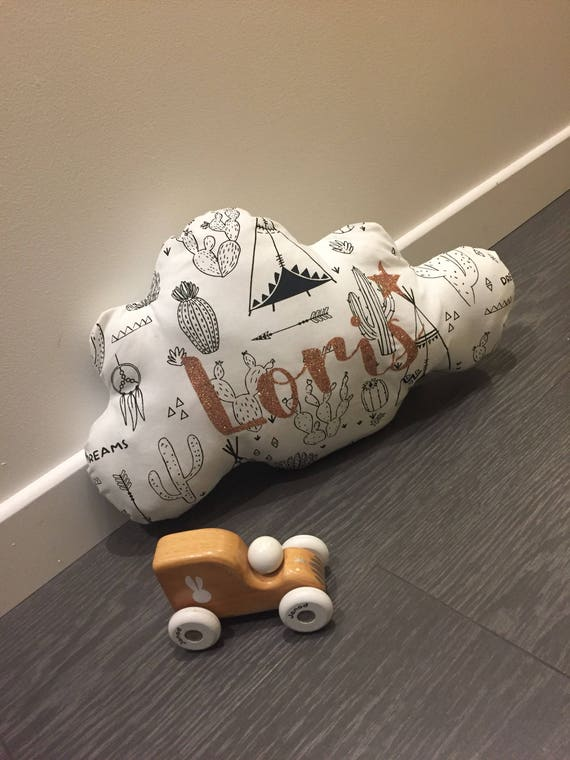Custom cloud pillow