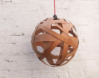 Clementine Large lampshade (cherry wood)