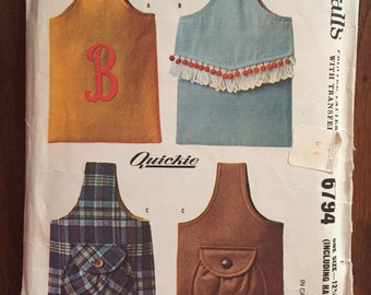 McCalls 6794 Sling Handbag sewing pattern