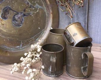 Brass cup Children's Brass Cups  ReFabulousReVamped  ReFabulous