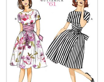 Vintage by B6318 retro Butterick sewing pattern