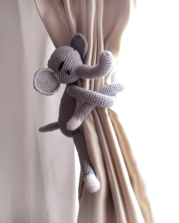 Vorhang Raffhalter Elefant Gardinenhalter zurück 1 Stück