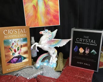 Crystal wisdom healing oracle cards