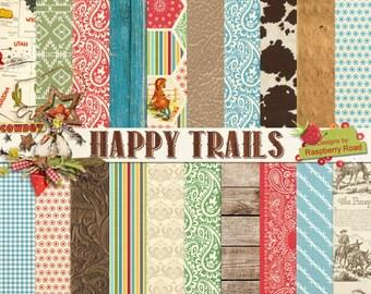 Happy Trails Paper Set
