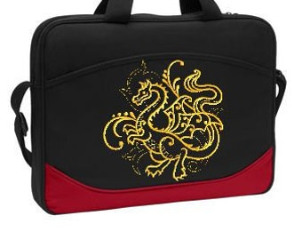 Computer Messanger Bag with Dragon
