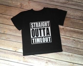 Straight Outta Timeout Tee, Timeout, Tee