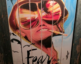 Fear and Loathing Large Wood Art