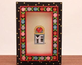 Mary Engelbreit Poly Stone Flower Frame Magnet.