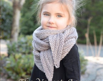 KNITTING PATTERN-The Wyla Shawl (Small, Medium and Large)