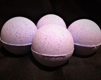 Third Eye Chakra Balancing Bath Bomb / Ajna Chakra Balancer / Cedarwood and Vanilla Bath Bomb