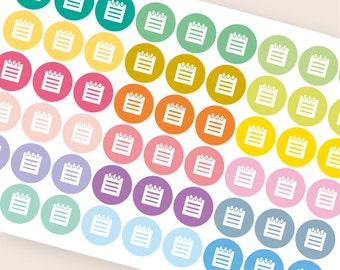 54 Kalender Student Aufkleber, College-Sticker, Aufkleber, Schule Test Prüfung Hausaufgaben Quiz lesen Eclp Filofax glücklich Planer kikkik