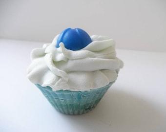 Blueberry cupcake soap