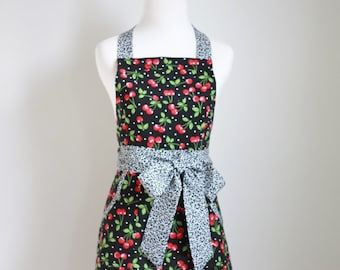 Apron PDF Pattern Women's Full and Half - The CRAZY DAISY - Instant Download Sewing Pattern #103