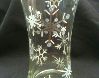 Snowflake Vase