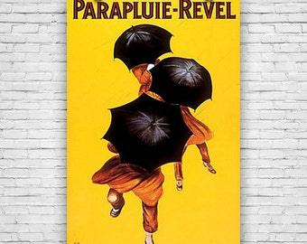 "Parapluie Revel by Artist Leonetto Cappielo, Umbrella, 1922, Art Print Poster - 24""x36"""