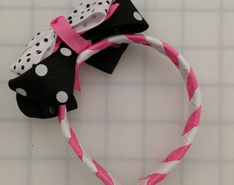 18'' Doll Bow Headband Accessory