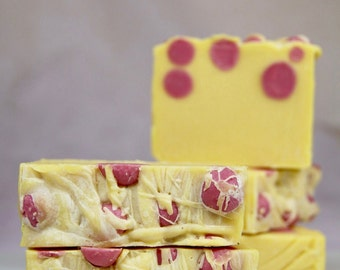 Natural Soap. Red Mandarine + Sweet Orange. PALM FREE SOAP