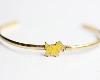 Dog Cuff Bracelet